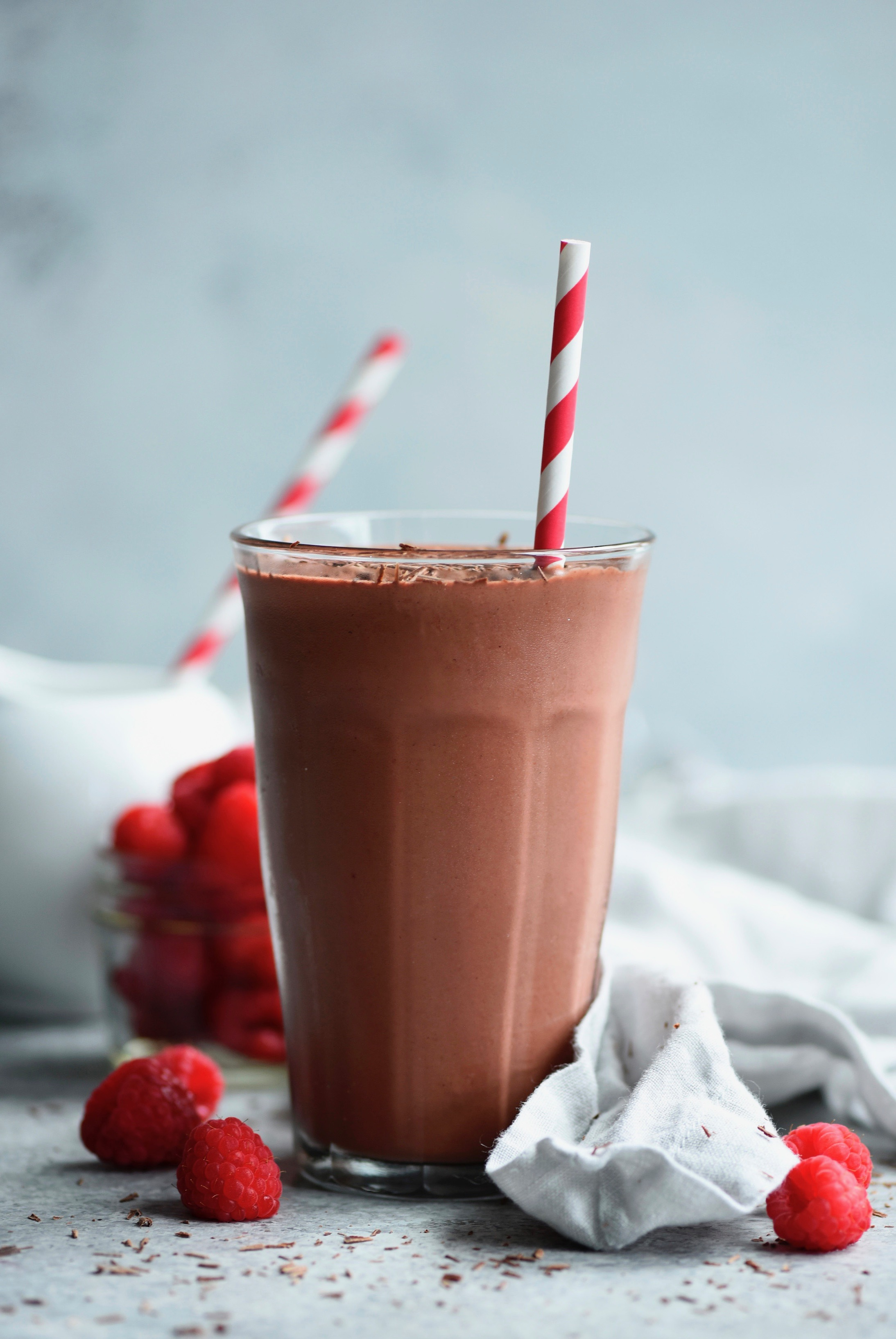 Red Velvet Smoothie with FlavaNaturals Unsweetened Drinking Chocolate, 900mg Cocoa Flavanols